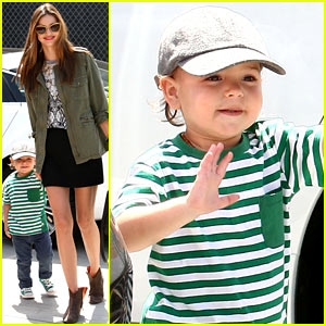 Miranda Kerr & Flynn: Romp Play Time!