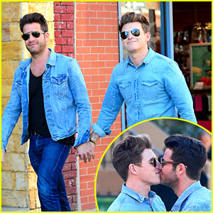 Nate Berkus & Jeremiah Brent: Kiss Kiss in New York!