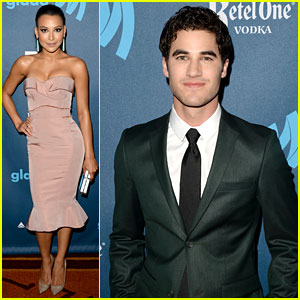 Naya Rivera & Darren Criss - GLAAD Media Awards 2013