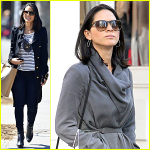 Olivia Munn: Joel Kinnaman's Dad is a Great Cook!