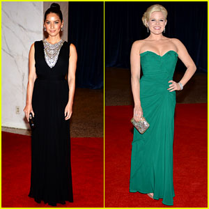 Olivia Munn & Megan Hilty - White House Correspondents' Dinner 2013