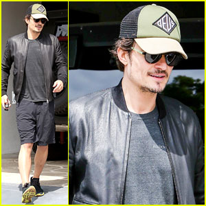 Orlando Bloom: WeHo Workout