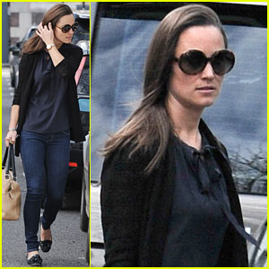Pippa Middleton: Back in London After Aristocrat Pals' Wedding