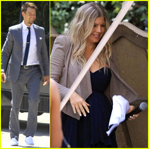 Pregnant Fergie: Sister's Wedding with Josh Duhamel