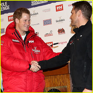 Prince Harry: South Pole Bound for Walking with the Wounded!