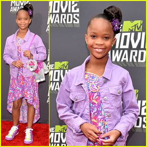 Quvenzhane Wallis - MTV Movie Awards 2013 Red Carpet