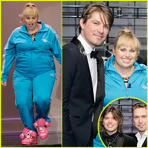 Rebel Wilson: 'Leno' Appearance with Hanson!