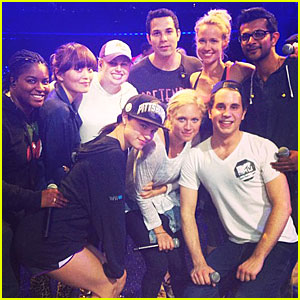 Rebel Wilson: MTV Movie Awards 2013 Rehearsal with 'Pitch Perfect' Cast!