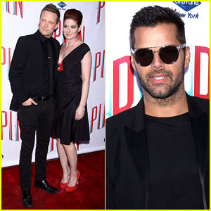 Ricky Martin & Debra Messing: 'Pippin' Broadway Opening!
