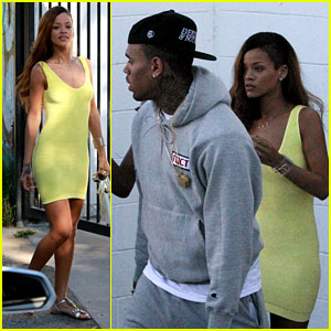 Rihanna & Chris Brown: Wild Style Shoppers!