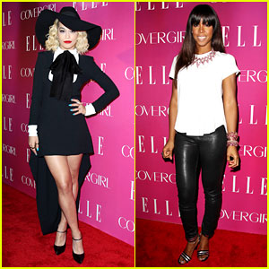Rita Ora & Kelly Rowland: 'Elle' Women in Music Event!