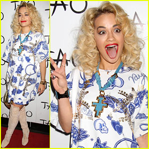 Rita Ora: Tao Nightclub Las Vegas Host!