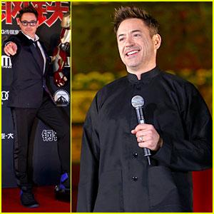 Robert Downey Jr.: 'Iron Man 3' Beijing Premiere!