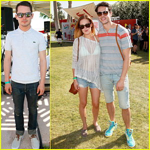 Rumer Willis: Lacoste L!ve Pool Party with Jayson Blair!