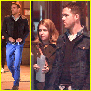 Ryan Reynolds: Berlin Dinner with Anna Kendrick!
