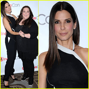 Sandra Bullock & Melissa McCarthy: 'The Heat' at CinemaCon!