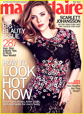 Scarlett Johansson Covers 'Marie Claire' May 2013