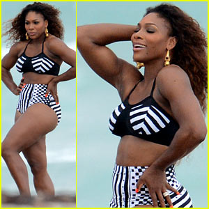 Serena Williams: Bikini Beach Photo Shoot!