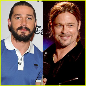 Shia LaBeouf to Co-Star in Brad Pitt's 'Fury'?