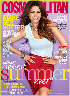 Sofia Vergara Covers 'Cosmopolitan' June 2013