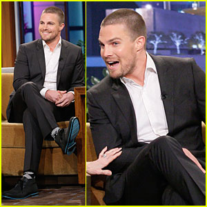 Stephen Amell: Male Prostitute Discussion on 'Leno'