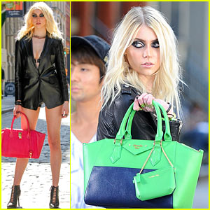 Taylor Momsen: Samantha Thavasa Commercial Shoot!