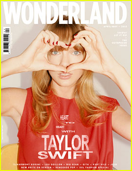 Taylor Swift Covers 'Wonderland' Mag's Outspoken Issue