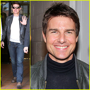 Tom Cruise: Generous & Passionate, Raves J.J. Abrams!