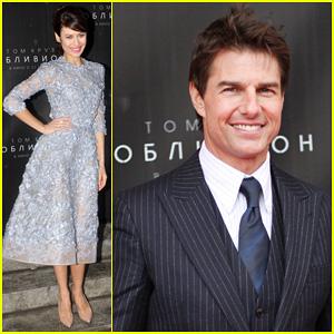 Tom Cruise & Olga Kurylenko: 'Oblivion' Moscow Premiere!
