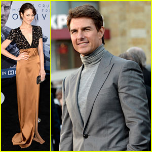Tom Cruise & Olga Kurylenko: 'Oblivion' Hollywood Premiere!