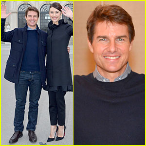 Tom Cruise & Olga Kurylenko: 'Oblivion' Vienna Photo Call!