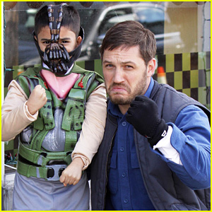 Tom Hardy Meets Mini-Bane on 'Animal Rescue' Set!