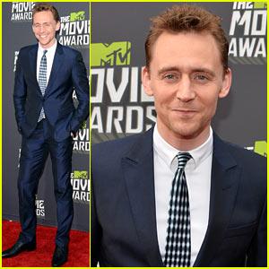 Tom Hiddleston - MTV Movie Awards 2013 Red Carpet