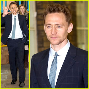 Tom Hiddleston Talks Sex Appeal & Charity on 'This Morning'