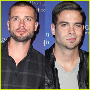 Tom Welling & Mark Salling: Hakkasan Opening Night Party!