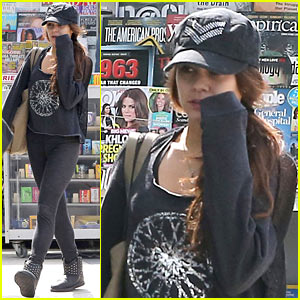 Vanessa Hudgens: Tuesday Morning Workout in West Hollywood!