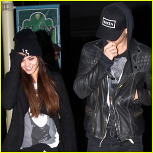 Vanessa Hudgens: 'Spring Breakers' with Austin Butler!