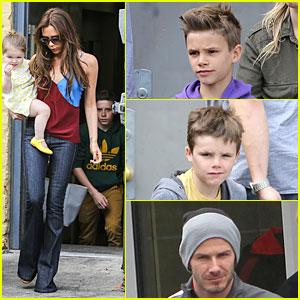 Victoria Beckham: Jack n' Jills Brunch with the Kids!
