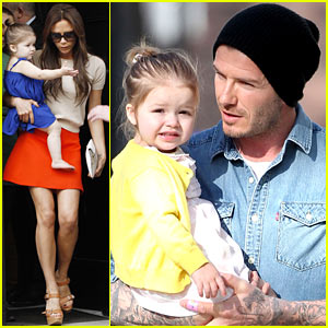 Victoria & David Beckham: Day Out with Harper!