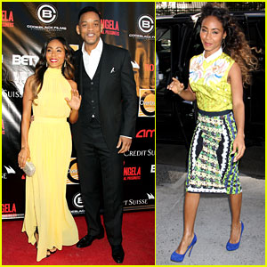 Will & Jada Pinkett Smith: 'Free Angela' NYC Premiere!