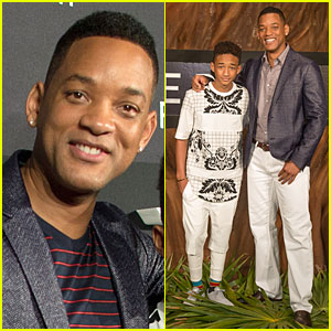 Will & Jaden Smith: 'After Earth' Cancun Photo Call!