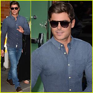 Zac Efron: 'Good Morning America' Appearance!