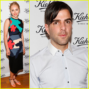 Zachary Quinto & AnnaSophia Robb: Kiehl's Environmental Launch