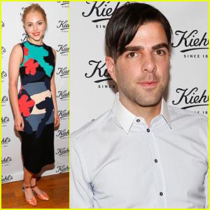 Zachary Quinto & AnnaSophia Robb: Kiehl's Environmental Launch
