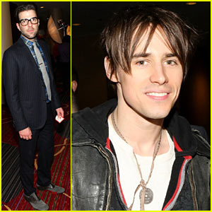 Zachary Quinto: 'Kinky Boots' Broadway Opening Night Party!
