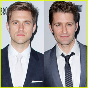Aaron Tveit & Matthew Morrison: Broadway.com Audience Awards