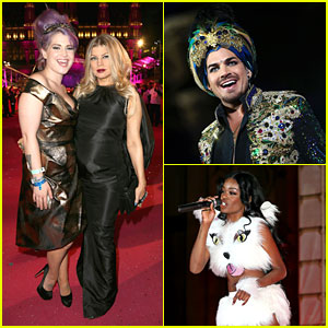 Adam Lambert, Fergie, & Azealia Banks: Life Ball 2013!