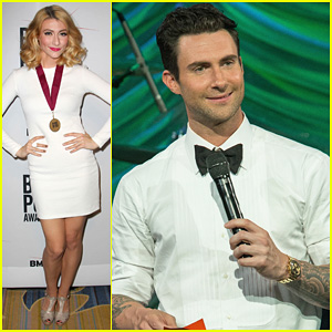 Adam Levine & Karmin: 2013 BMI Pop Awards!