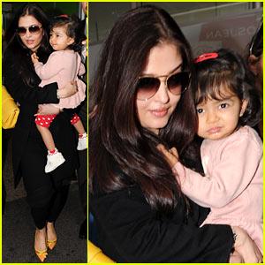 Aishwarya Rai & Daughter Aaradhya Arrive at Cannes!