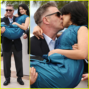 Alec & Hilaria Baldwin: Cannes 'Seduced and Abandoned' Photo Call!